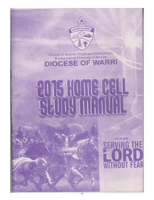 2015  HOME CELL MANUAL