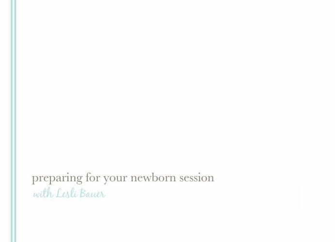 Newborn Parent Guide