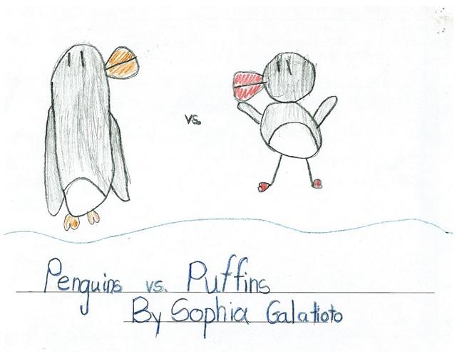 Sophia G.'s Legend: Penguins vs. Puffins
