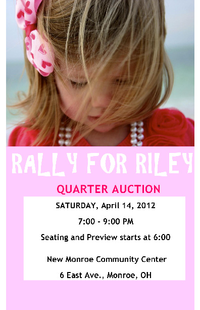 Rally for Riley Quarter Auction