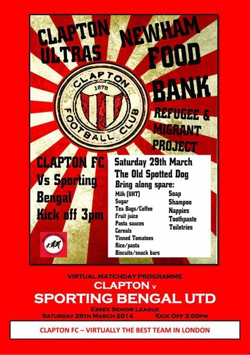 Clapton FC v Sporting Bengal United FC