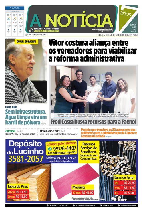 Jornal A Notícia - Edição 279