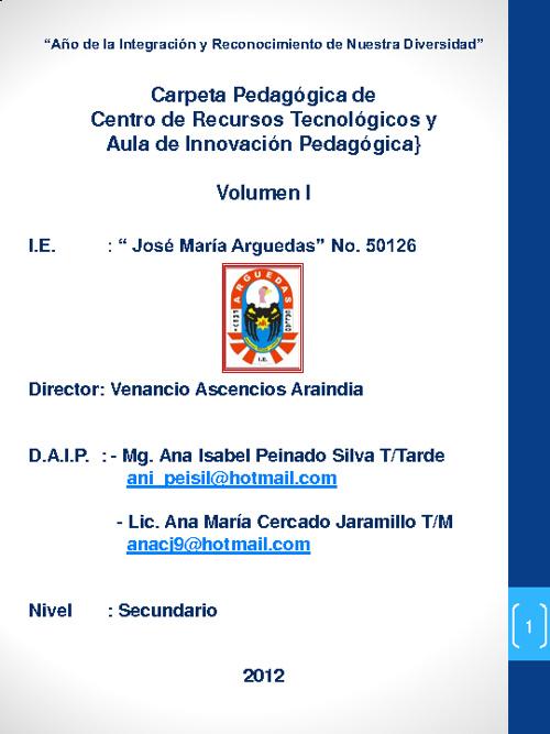 Documentos AIP vol I