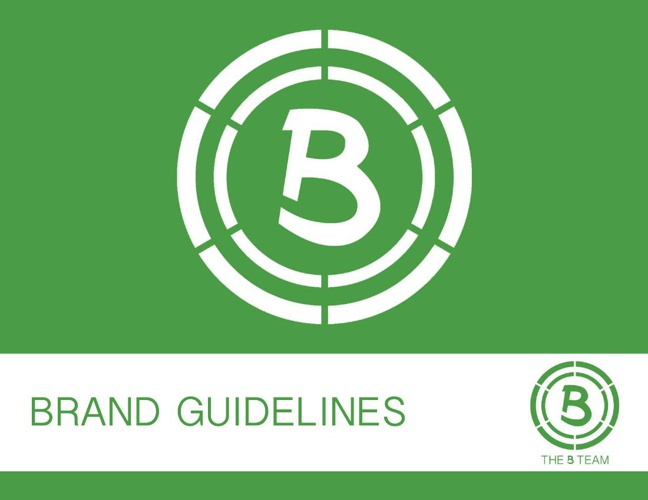 B Team Brand Guidelines