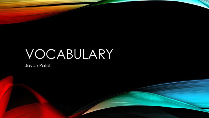 E-Commerce 1 Vocabulary (1.01)