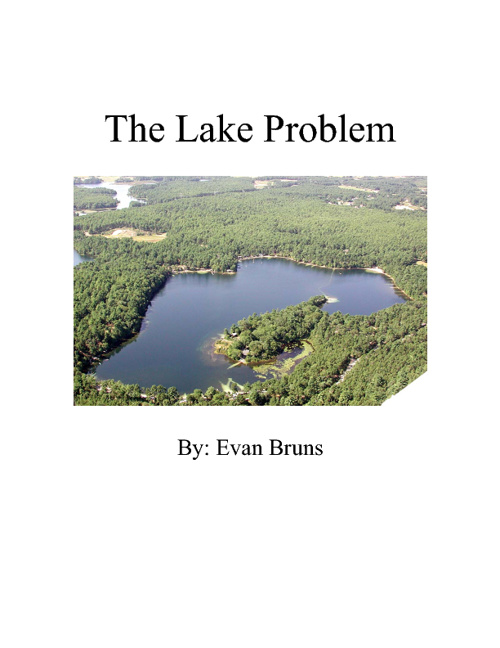The Lake Problem-AP Calculus AB