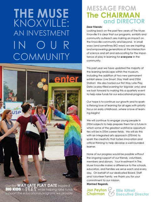 The Muse Knoxville 2015-2016 Annual Report