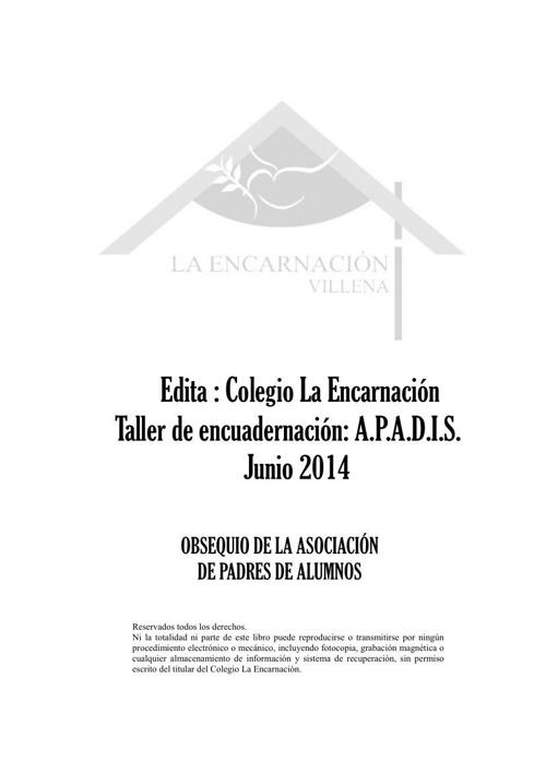 libro 15ª promoción la encarnacion