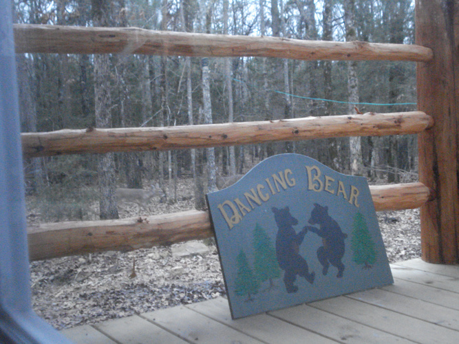 Copy of Dancing Bear  cabin 2009-2012