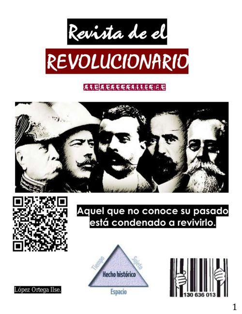 REVISTA DEL REVOLUCIONARIO.