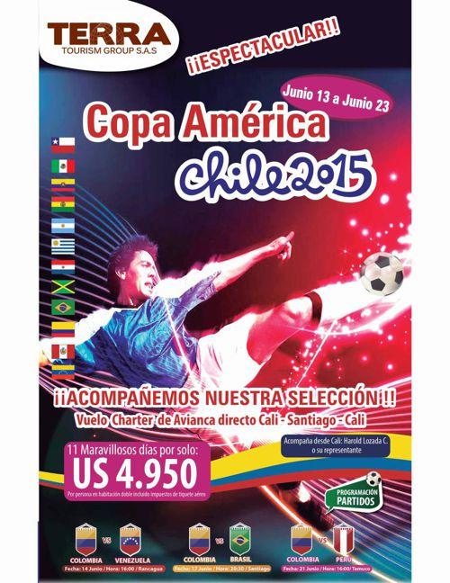 Copa América Chile 2015 TERRA