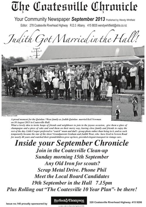 Coatesville Chronicle September