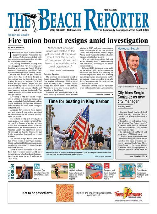 The Beach Reporter | April 13, 2017