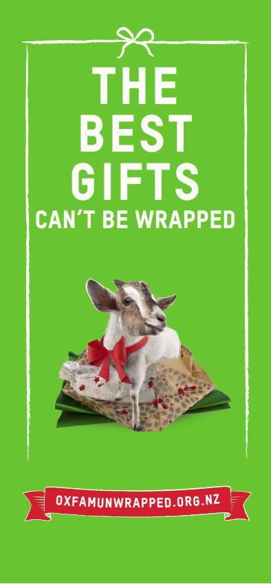 Oxfam Unwrapped