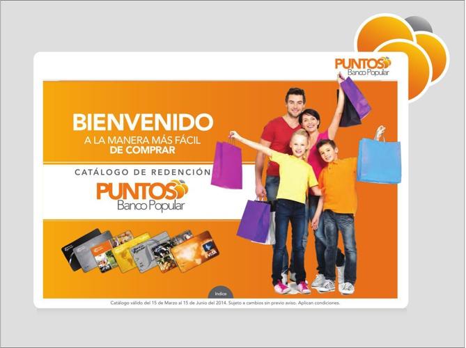 Catálogo de Redención - Puntos Banco Popular