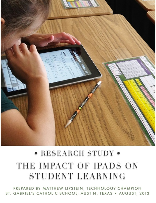 The Impact of iPads on Student Learning