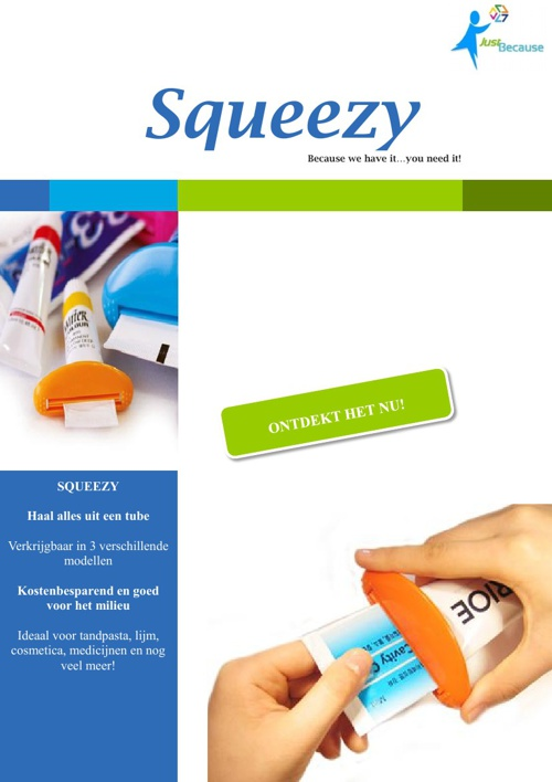 Squeezy catalogus