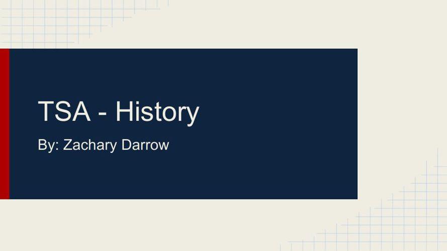 TSA History - Ebook