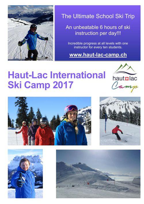 School Ski Brochure 2017 UK Ireland