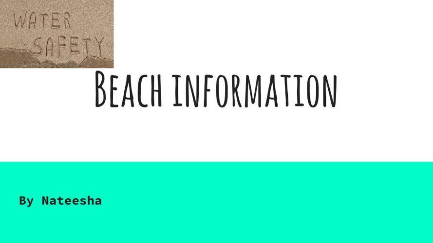 Beach Information