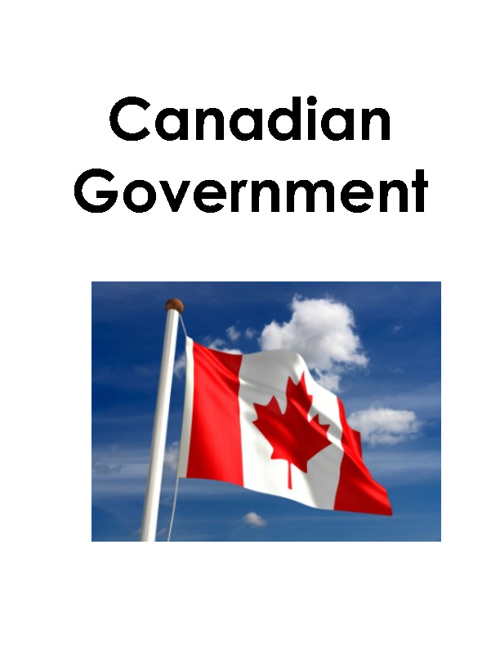 Three Levels of the Canadian Government