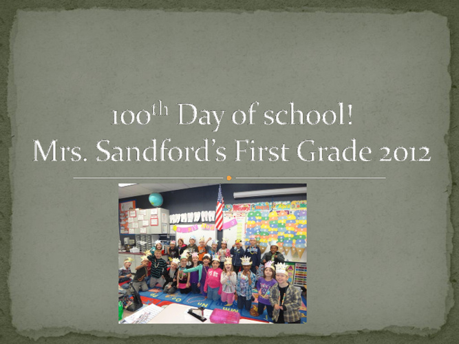 We Survived 100 Days of School!
