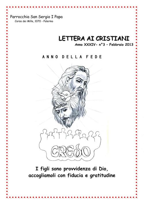 Lettera ai Cristiani III