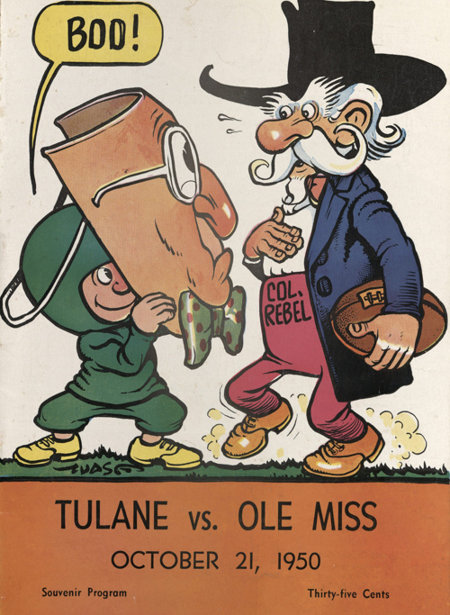 Little Greenie - Nostalgic Football Programs