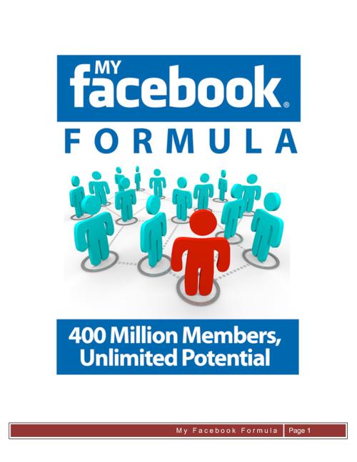 Facebook Formula
