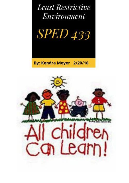 SPED 433