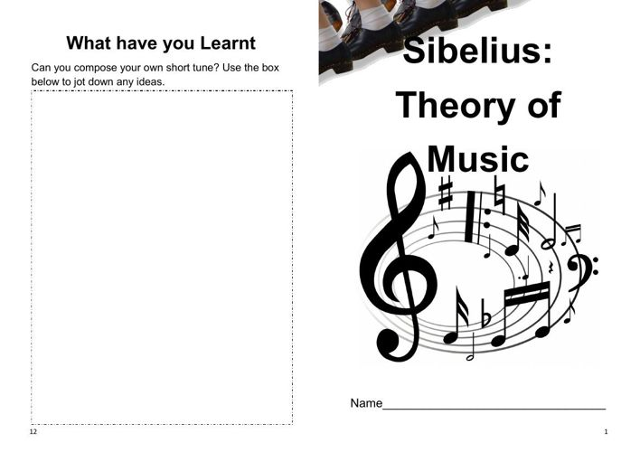 Theory Of Music Booklet