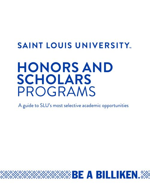 Honors and Scholars Programs (2018)