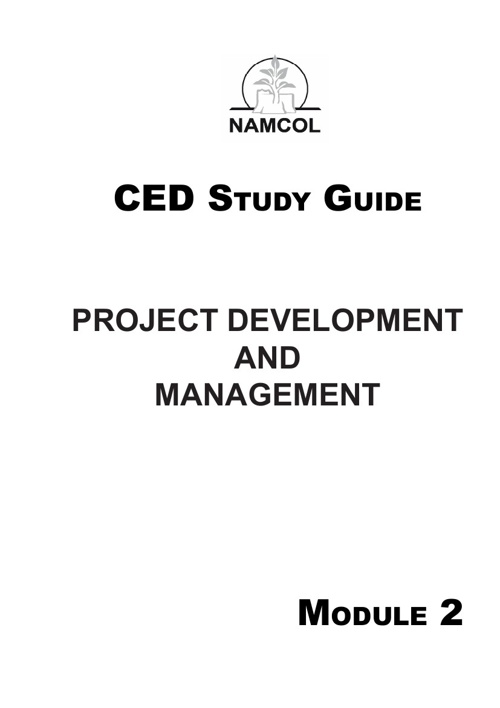 Project Development and Management: Module 2