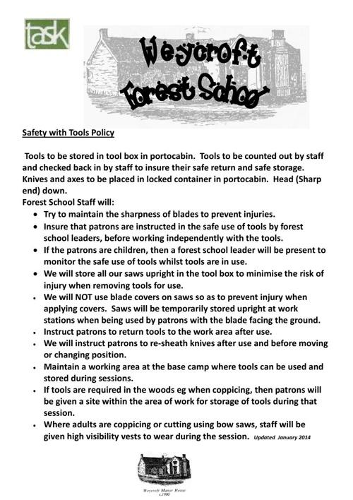 Policies 2014 updates