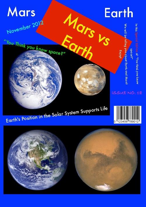 Ryan's Summative Assessment: Earth vs Mars