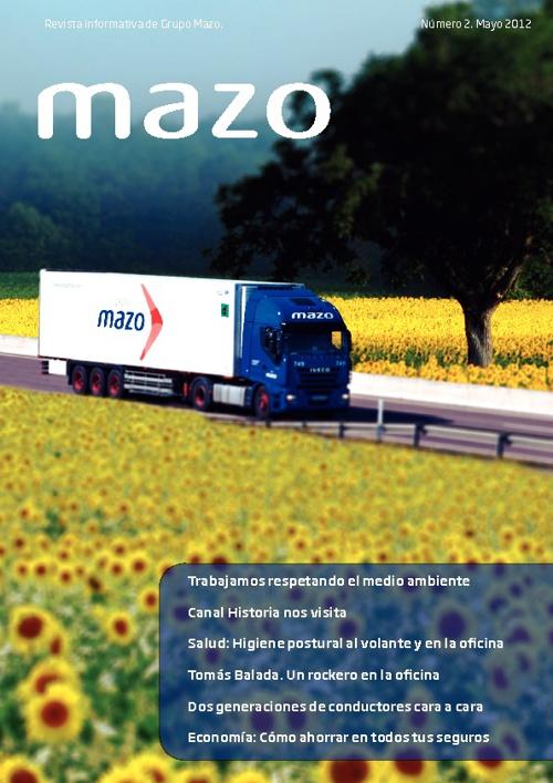 Numero 2.Revista Grupo Mazo