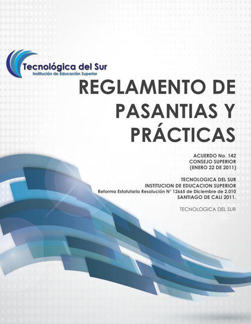 REGLAMENTO DE PASANTIAS