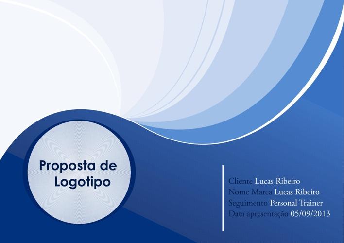 Apresentação Logotipo Lucas Ribeiro