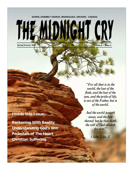 The Midnight Cry Issue 3 Vol 2