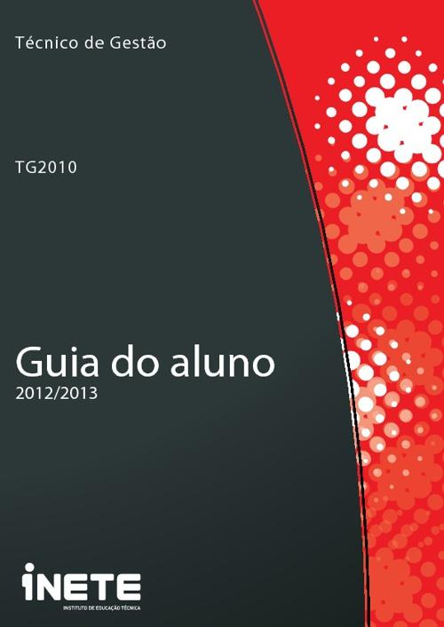 Guia do Aluno 2012/2013 - TG2010