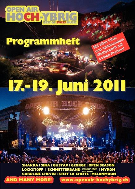 OAHY Programmheft complete 2011 by Phoenix Kommunikation