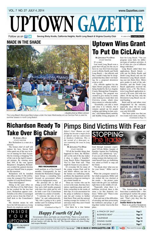 Uptown Gazette  |  July 4, 2014