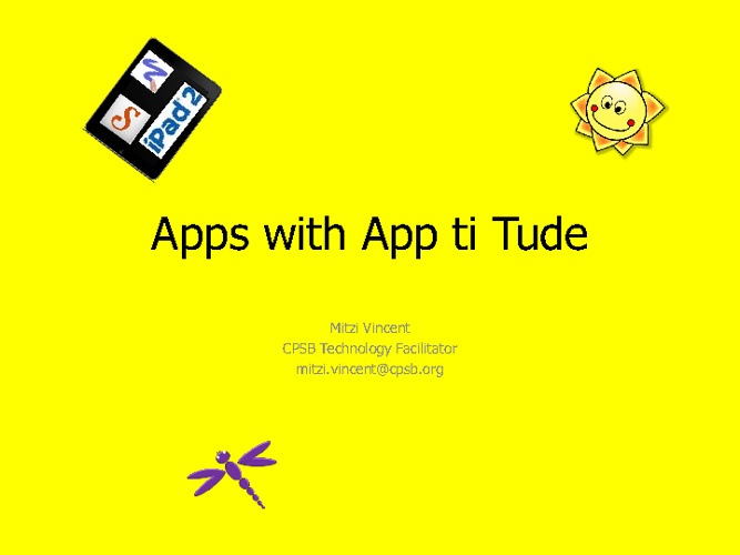 Apps with App titude