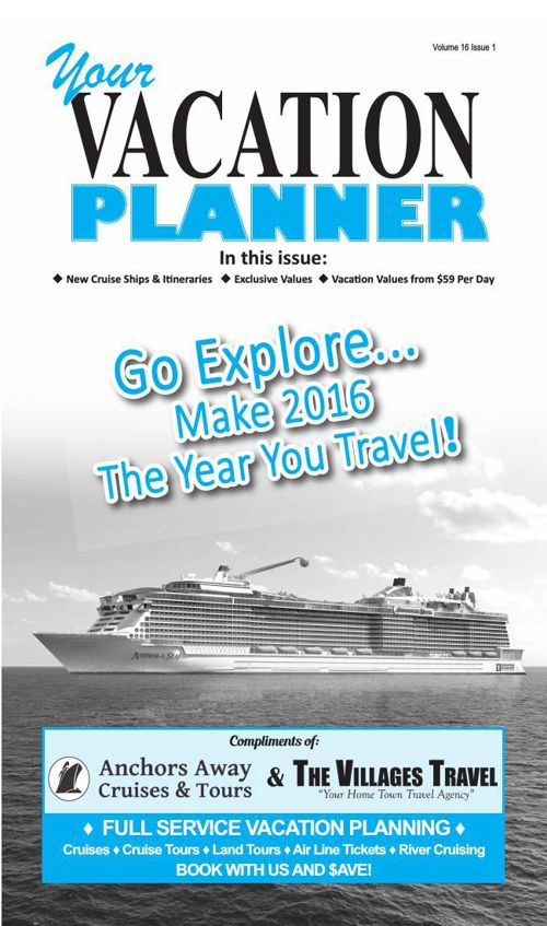 Anchors Away Cruises Vacation Planner 0116