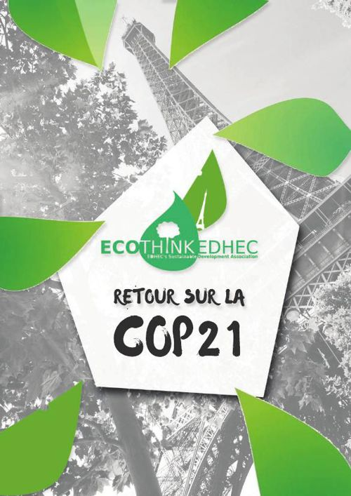 Retour sur la COP21 - Ecothink EDHEC