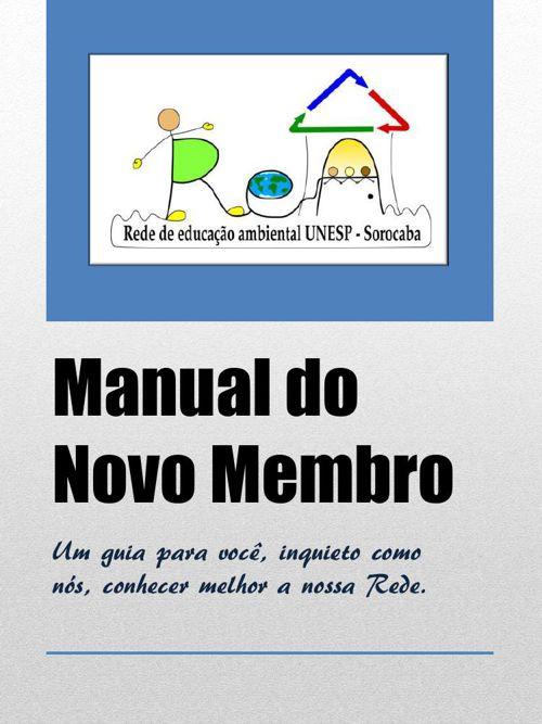 Manual do Novo Membro