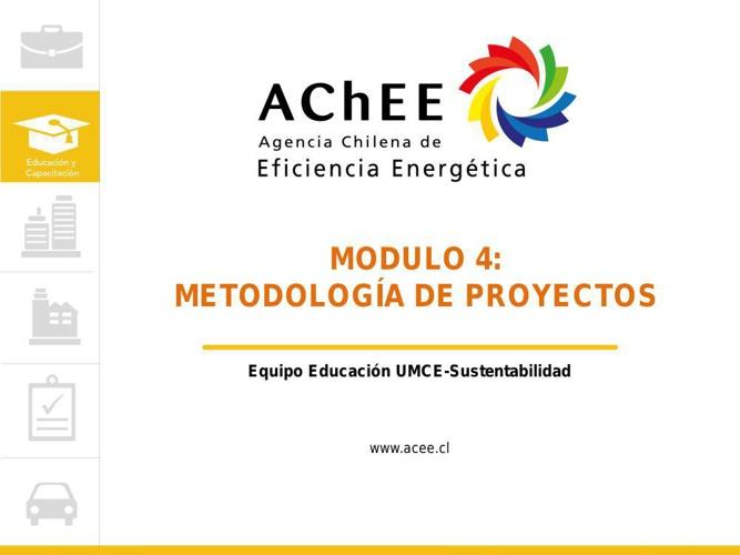 Unidad 4 - Metodología de Proyectos