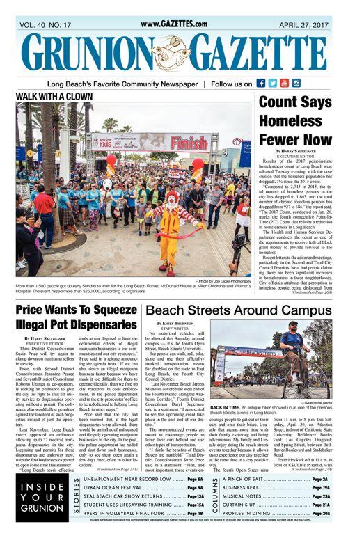 Grunion Gazette  |  April 27, 2017