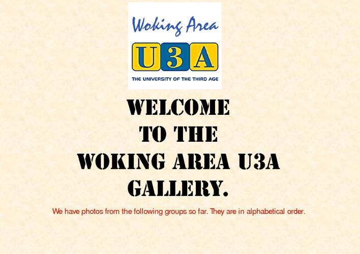 Copy of U3A Gallery