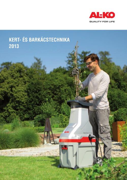 AL-KO Kert- és barkácstechnika katalógus 2013 Kertigép Á